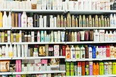 Hair care cosmetics editorial Stock Image