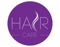 Hair Care Logo Design Stock Photo