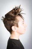 Hair child style Stock Photo