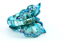 Hair clip in butterfly shape Stock Photo