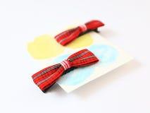 Hair Clip. Red Hair Clip 1 pair Stock Image