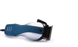 Hair clipper. Isolated on white stock photos