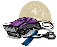 Hair clipper Royalty Free Stock Photo