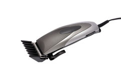 Hair clipper. On white background royalty free stock photography