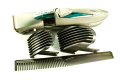 Hair clipper and equipment. If you want to cut your hair hair clipper can help you stock photos
