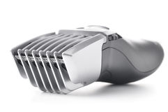 Hair clipper isolated on white royalty free stock image