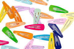 Hair clips Stock Images