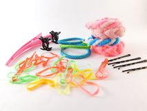 Hair clips. stock photography