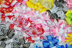 Hair clips Royalty Free Stock Image