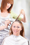 Hair coloring Royalty Free Stock Photo