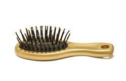 Hair comb Stock Image