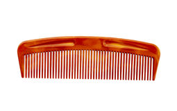 Hair comb isolated on a white background Royalty Free Stock Image