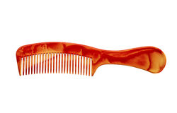 Hair comb isolated on a white background. Hair comb isolated on white background Stock Photo