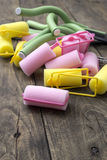 Hair curlers Royalty Free Stock Image