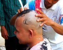 Hair  cut  5 Stock Photography