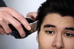 Hair cut Royalty Free Stock Photography