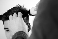 Hair cut Royalty Free Stock Photos