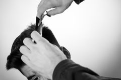 Hair cut Royalty Free Stock Photography