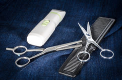 Hair cut device for dog. Image of hair cut device for dog stock photography
