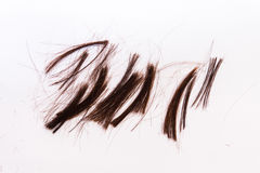 Hair cut off Royalty Free Stock Images