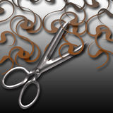 Hair cut Royalty Free Stock Photo