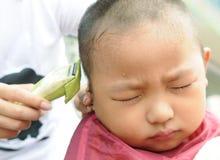Hair cutting Stock Image