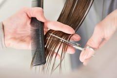 Hair cutting Royalty Free Stock Image