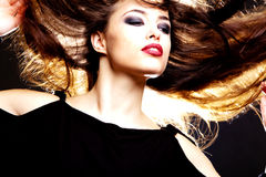 Hair dance Royalty Free Stock Images
