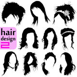 Hair Design 2 Royalty Free Stock Image