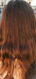 Hair detail Royalty Free Stock Images