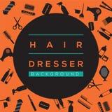 Hair Dresser Background. Stock Photography