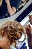 Hair dressing Royalty Free Stock Image