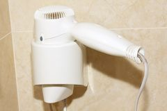 A hair drier Royalty Free Stock Image