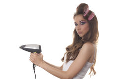 Hair dryer Royalty Free Stock Images