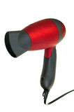 Hair dryer. Isolated on white background with clipping path Stock Photography