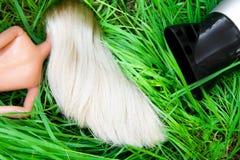 Hair dryer Stock Image