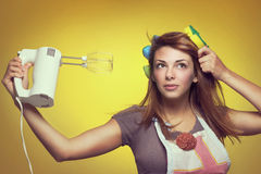 Hair dryer Stock Photo