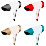 Hair dryers Royalty Free Stock Image