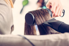 Hair Drying Stock Photos
