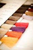 Hair dye colour swatch Royalty Free Stock Photo