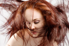 Hair everywhere Royalty Free Stock Photo