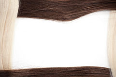 Hair extension Royalty Free Stock Images