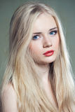Hair and face beauty Royalty Free Stock Photography