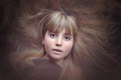 Hair, Face, Beauty, Human Hair Color Royalty Free Stock Photography