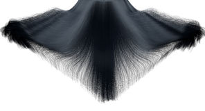 Hair Falling Freeze Frame Royalty Free Stock Image
