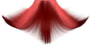 Hair Falling Freeze Frame Royalty Free Stock Photos