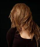 Hair flick Royalty Free Stock Photo