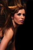 Hair Flip Royalty Free Stock Photo