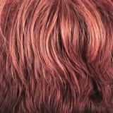 Hair fragment as a background composition Stock Photos