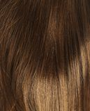 Hair fragment as a background composition Stock Photography